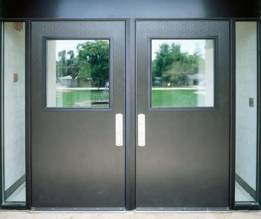 Commercial metal doors atlanta commercial wood doors for Window and door company